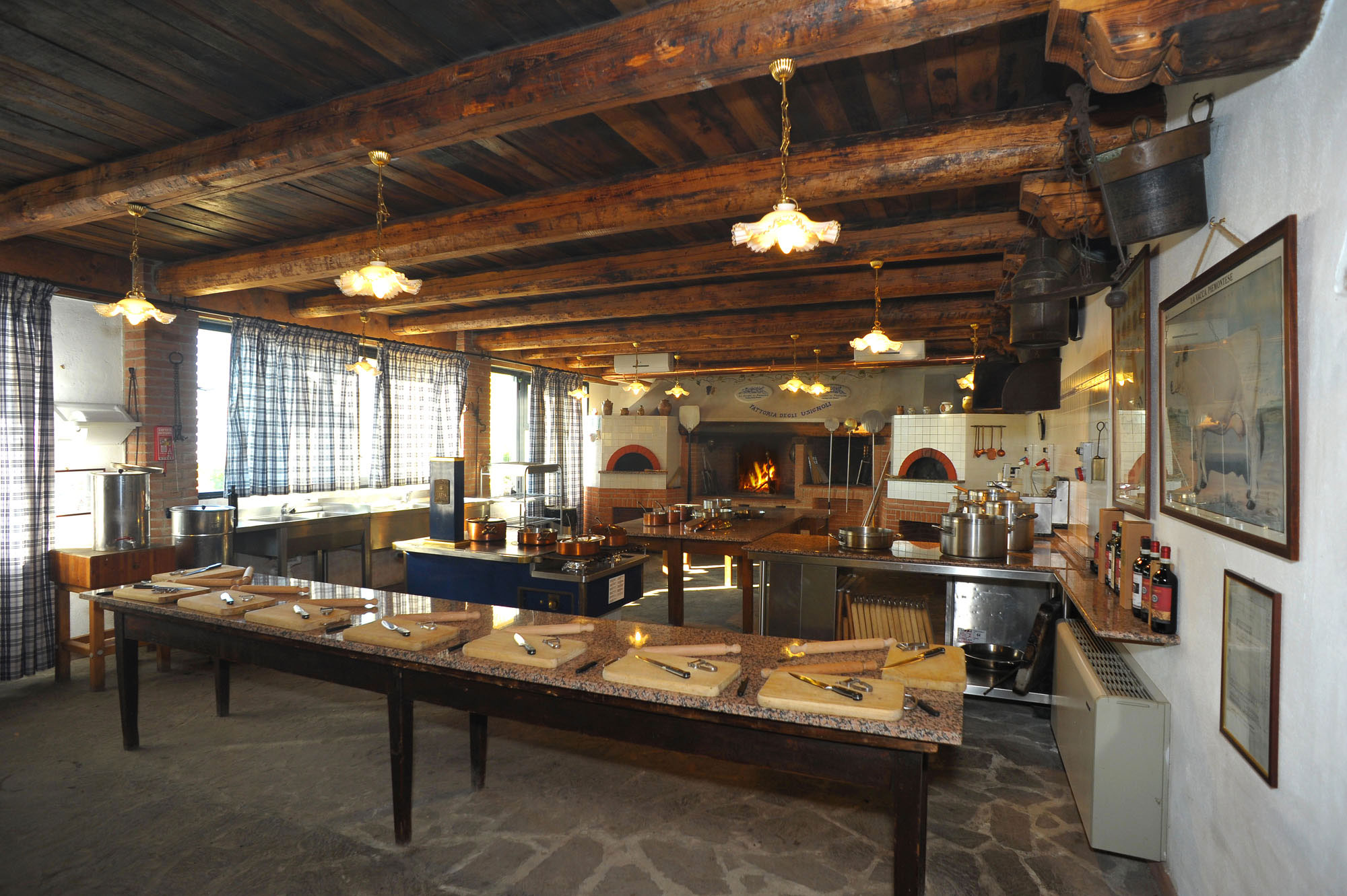 Latest scuola di cucina u fattoria degli usignoli u toscana with cucine stile toscano - Cucine stile toscano ...